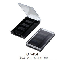Square Plastic Eyeshadow Compact Case